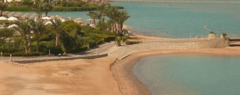 Песчаный берег Хургады
