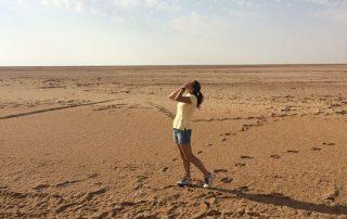 Irina v pustyne