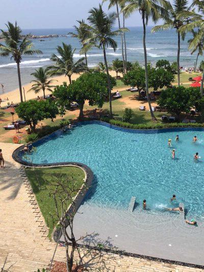 Шри-Ланка вид на океан
