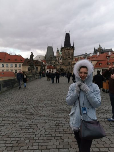 Елена в Праге