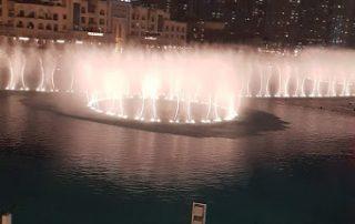 фонтаны в ОАЭ